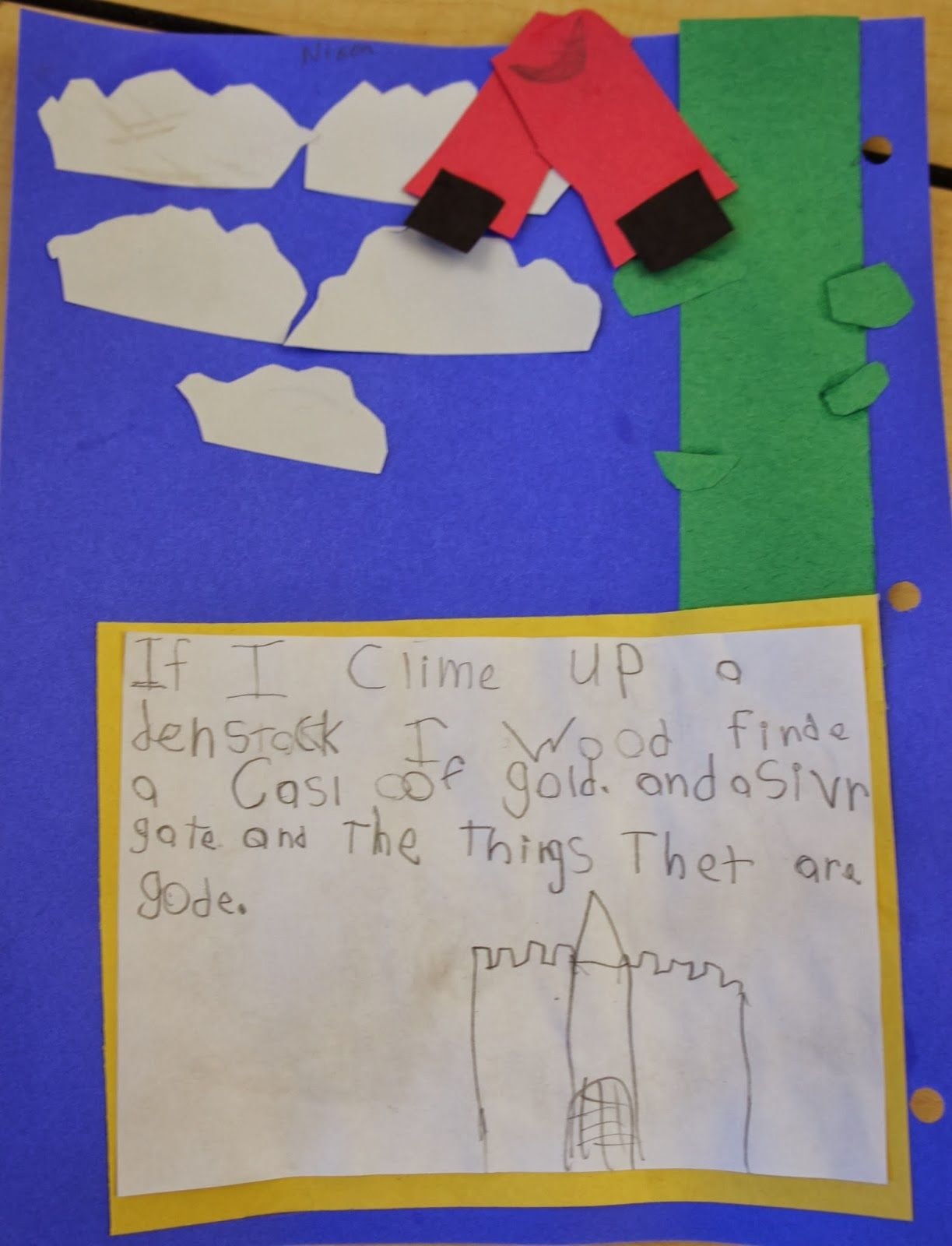 Interactive Writing Up The Beanstalk