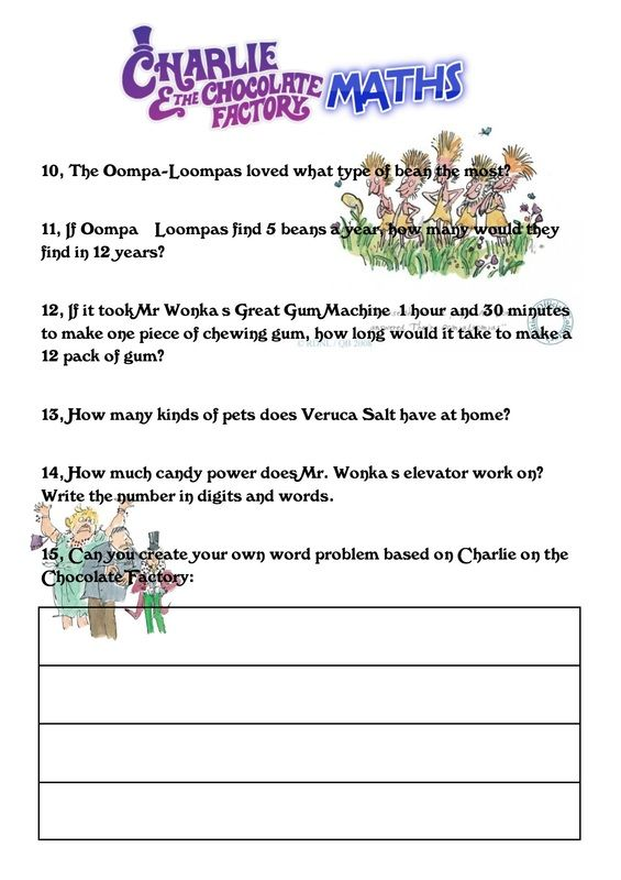 Maths Topic Shed Math Roald Dahl Activities Visible Learning