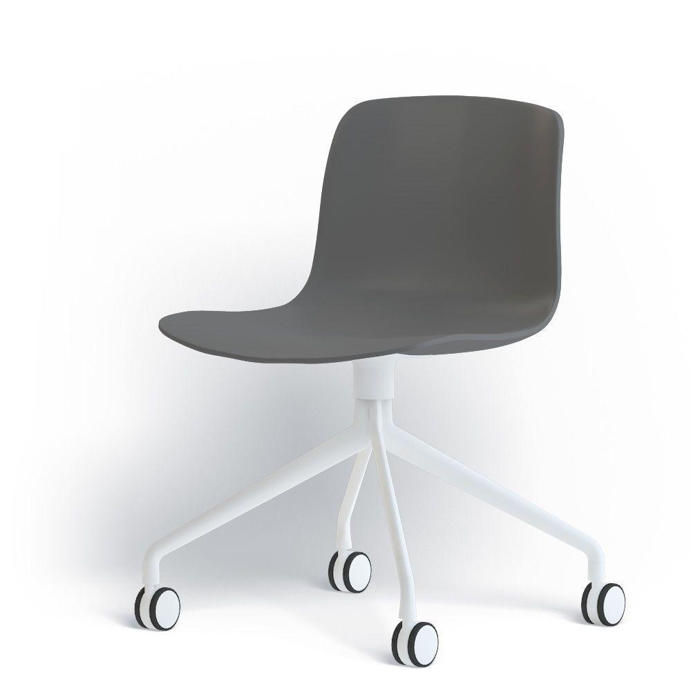 HAY About a Chair AAC 14   Gestell pulverbeschichtet weiß, Sitzschale Jetzt bestellen unter ...
