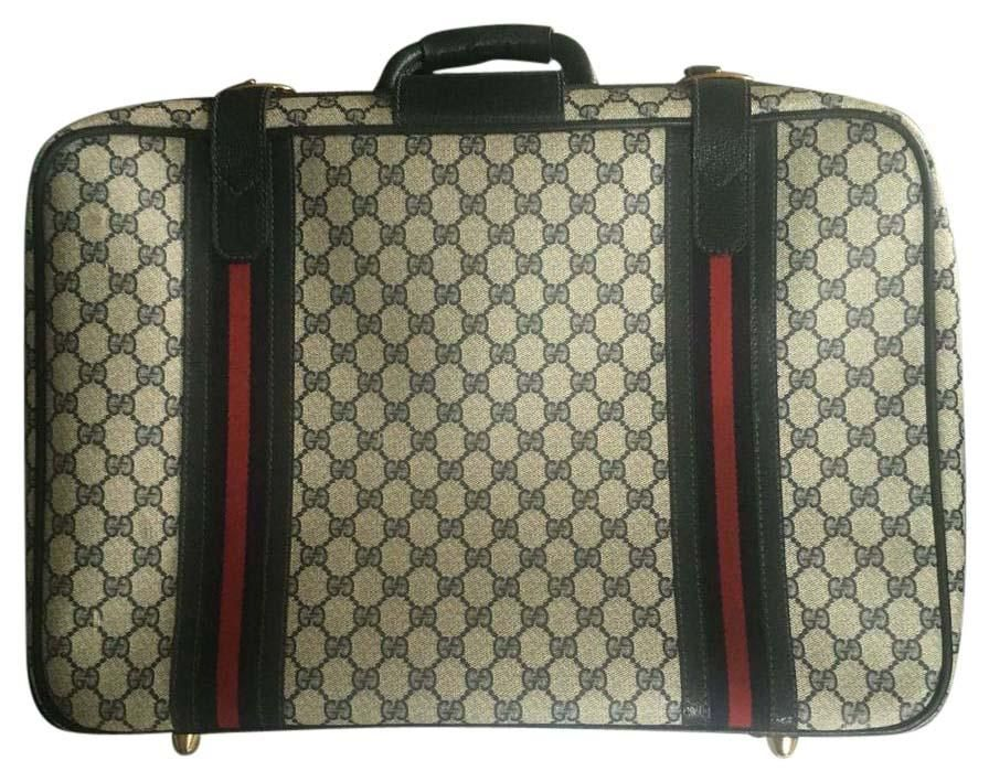 e0abaddb6a0 Gucci Carry On Vintage Gg Navy Blue Travel Bag. Save 55% on the Gucci Carry  On Vintage Gg Navy Blue Travel Bag! This travel bag is a top 10 member  favorite ...