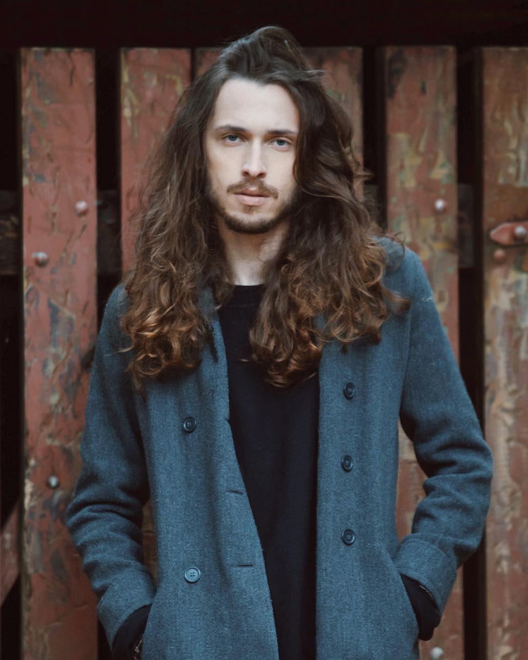 Long haircuts men instatoompiva myoutrodoug  long hair beard  pinterest  long