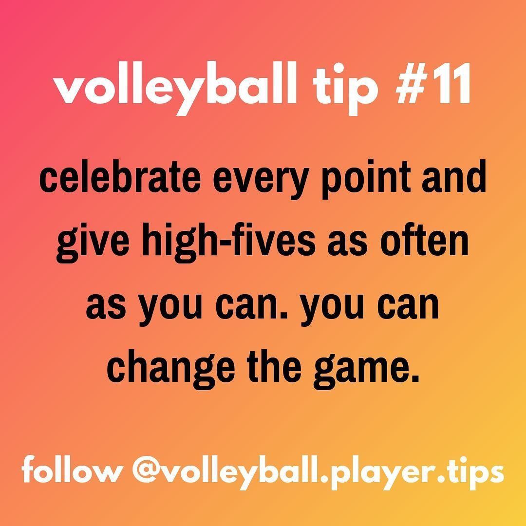 Volleyball Player Tips On Instagram There S Literally A Study That Says Teams Who High Inspirational Volleyball Quotes Coaching Volleyball Volleyball Players