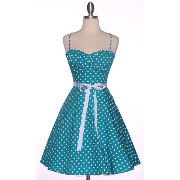 Pin Up Dresses Pin Up Dress Pinup Dresses ❤ liked on Polyvore