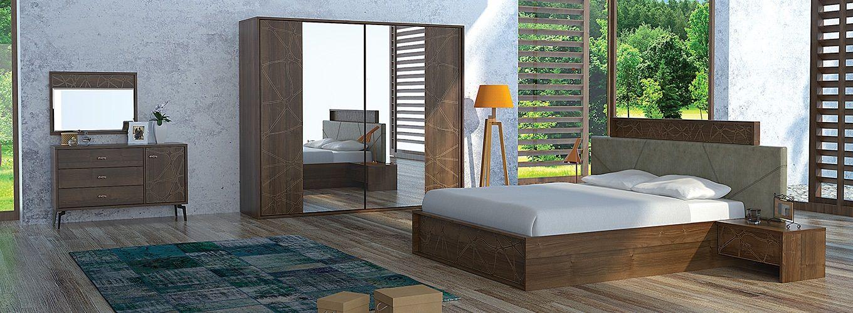 Messina Yatak Odasi Alfemo Mobilya Modelleri Yatak Yatak Odasi Ev Dekorasyonu