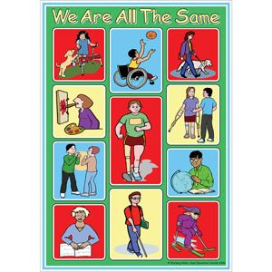 Disability Awareness Posters For Kids We Are All The