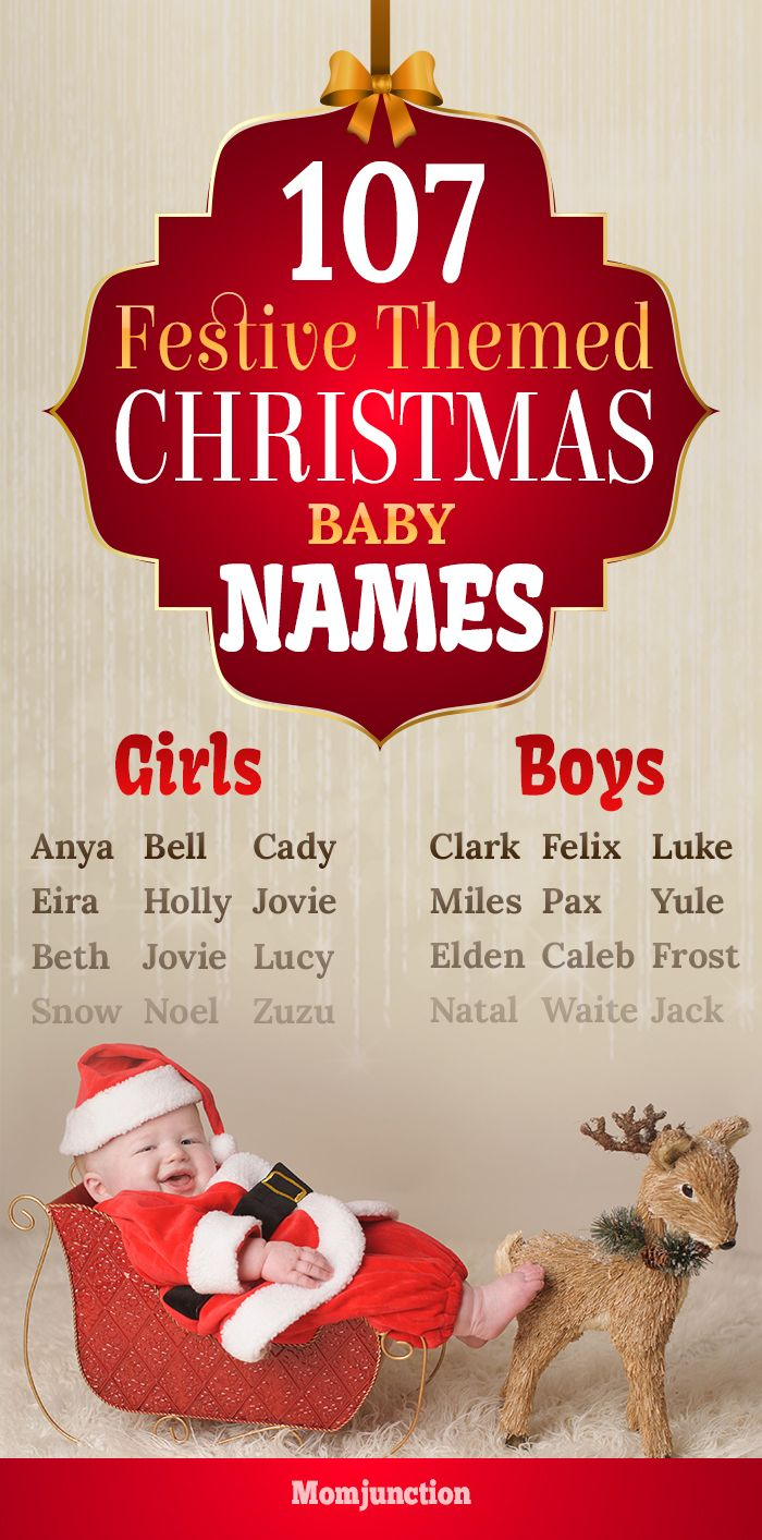 107 Festive Themed Christmas Baby Names For Boys And Girls You Can Either Go The Subtle Way And Pick A N Christmas Baby Names Baby Names Christmas Baby