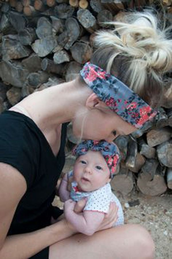 $3.11 (Buy here: http://appdeal.ru/4d0h ) Mom and Me Headband With Knit Fabric Baby Girl Headband Mommy and me Matching Headbands Photo Prop Gift for Mom and Baby 1Set for just $3.11