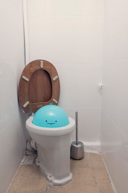 If you ever did this to my toilet it would be ok. :)