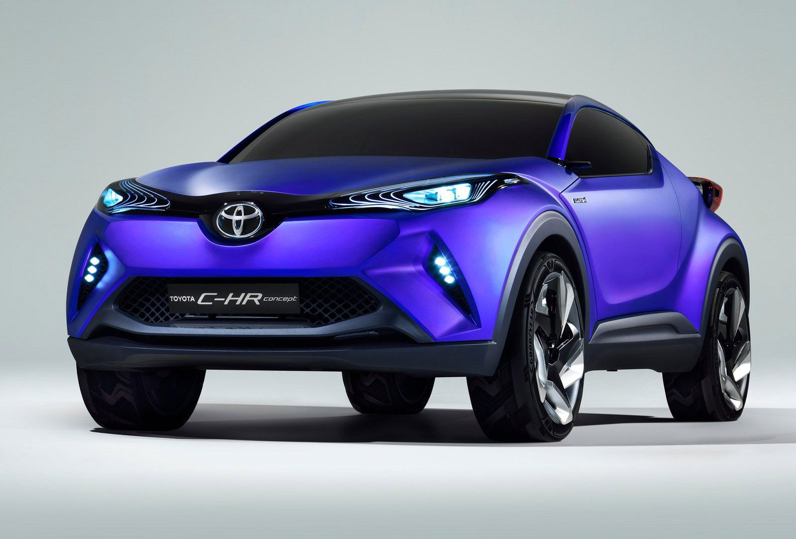 toyota c hr concept debuting in paris previews future subcompact crossover see