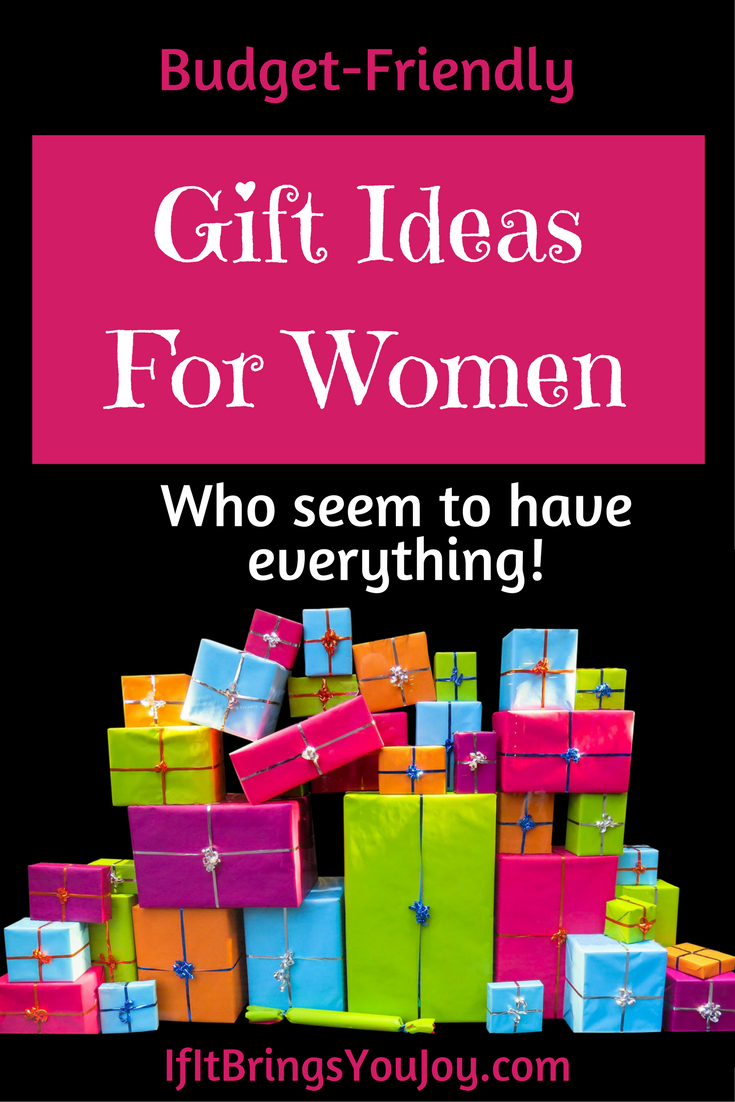 75+ Gift Ideas for Women Who Have Everything Birthday