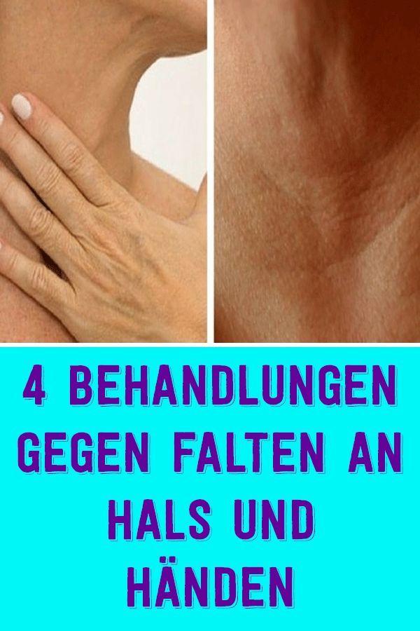 4 behandlungen gegen falten an hals und händen #hairhealth