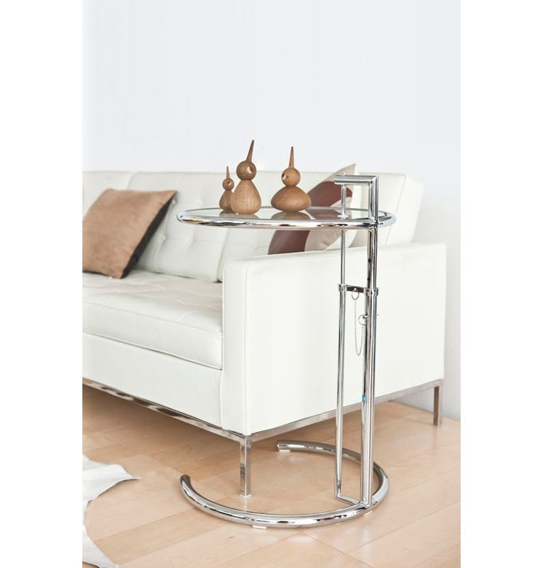 Eileen Gray Adjustable Table replica eileen gray adjustable cigarette table deluxe version by