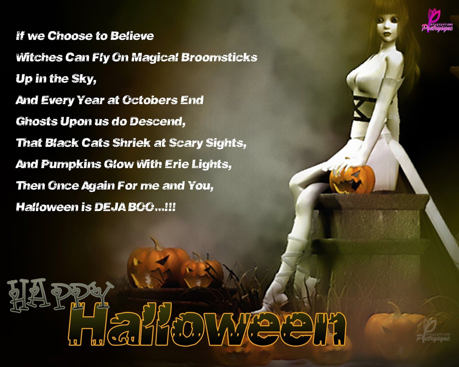 Poetry: Happy Halloween Poems And Quotes For Kids With Wishes Wallpapers