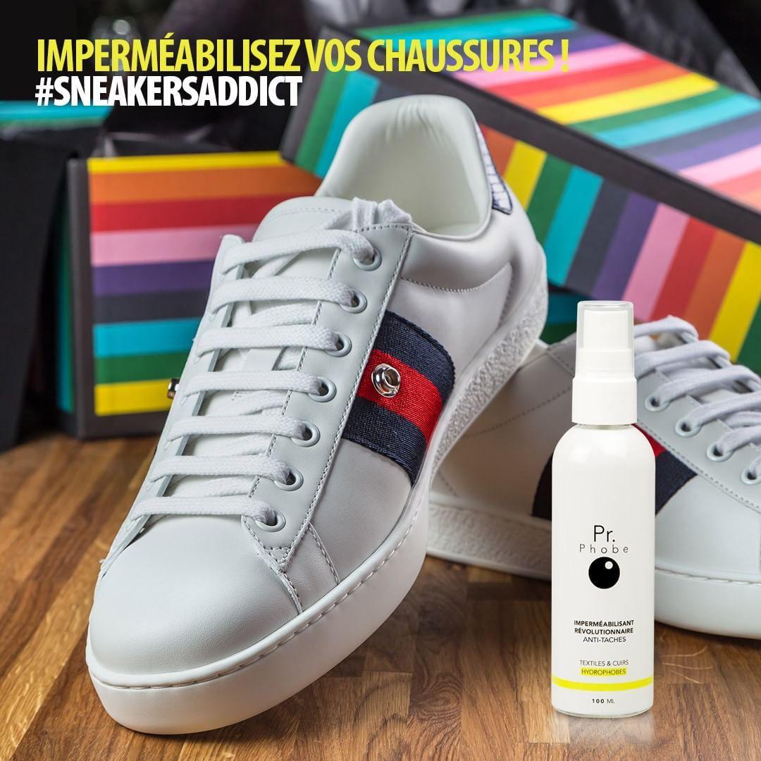 Une jolie paire de #sneakers protégées avec #prphobe
