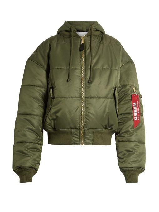 be25b0e6b Vetements X Alpha Industries reversible bomber jacket   KID FRESH ...