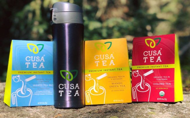 TEAR. POUR. SIP. RELAX. In your hands is the next evolution in a centuries old tradition. Cusa Tea is the world's first premium instant tea. Made from organic ingredients with no additives, fillers, or sugar, it's incredible tea that can be made in three seconds, hot or cold. #instanttea #tea #onthego #camping #hiking #adventure #outdoors #outside #lueoutdoors #livelifeoutside #food #drink