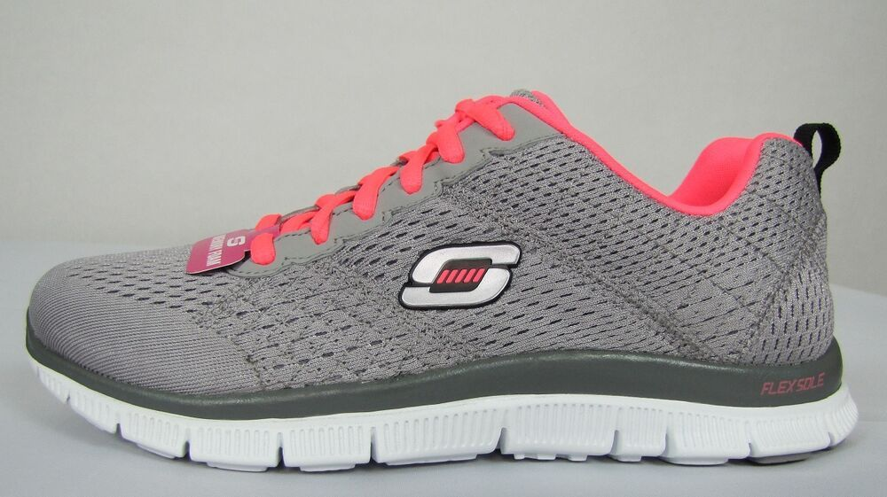 Skechers Flex Appeal Obvious Choice Womens Running Shoes Size 6 5
