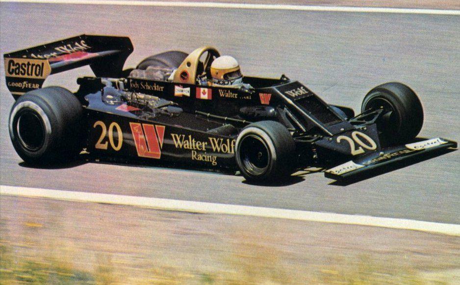 1978 Spain Scheckter Wolf WR5 Formule 1, Grand prix, Courses