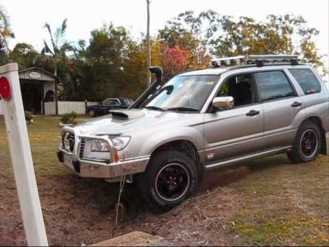 Subaru Forester Set Up For Off Road Driving Test 1 Subaru Forester Subaru Offroad