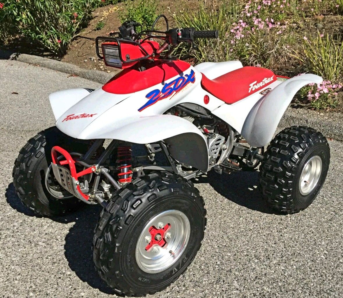 1987 Honda Fourtrax Trx250x Atv Quads Honda Old Trucks