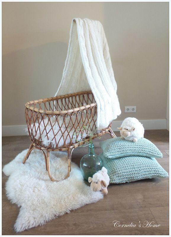 Baby Bed Wieg.Hippe Vintage Rotan Wieg Dream Home Baby Cribs Baby Bassinet