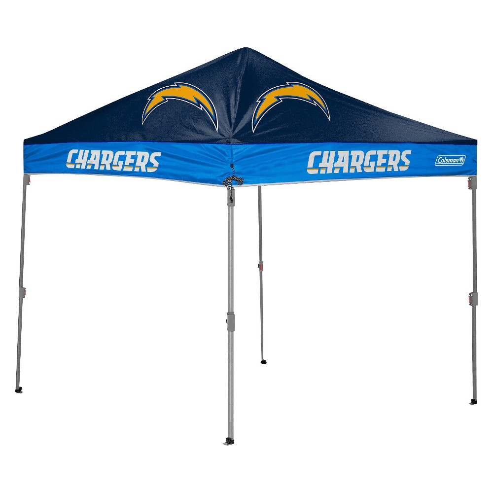 NFL Coleman 10x10 ft. Straight Leg Canopy Tent - San Diego Chargers  sc 1 st  Pinterest & NFL Coleman 10x10 ft. Straight Leg Canopy Tent - San Diego ...