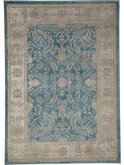 Tapis Orient Alaya Bleu 160x230 Cm Tapis Chambre