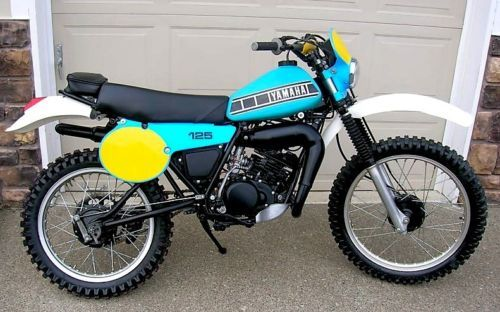 1981 Yamaha It125 Based On The Yz100 Chassis And Motor The Bike Was Small And Light Though Underpowered For Serious Com Vintage Motocross Vintage Bikes Bike