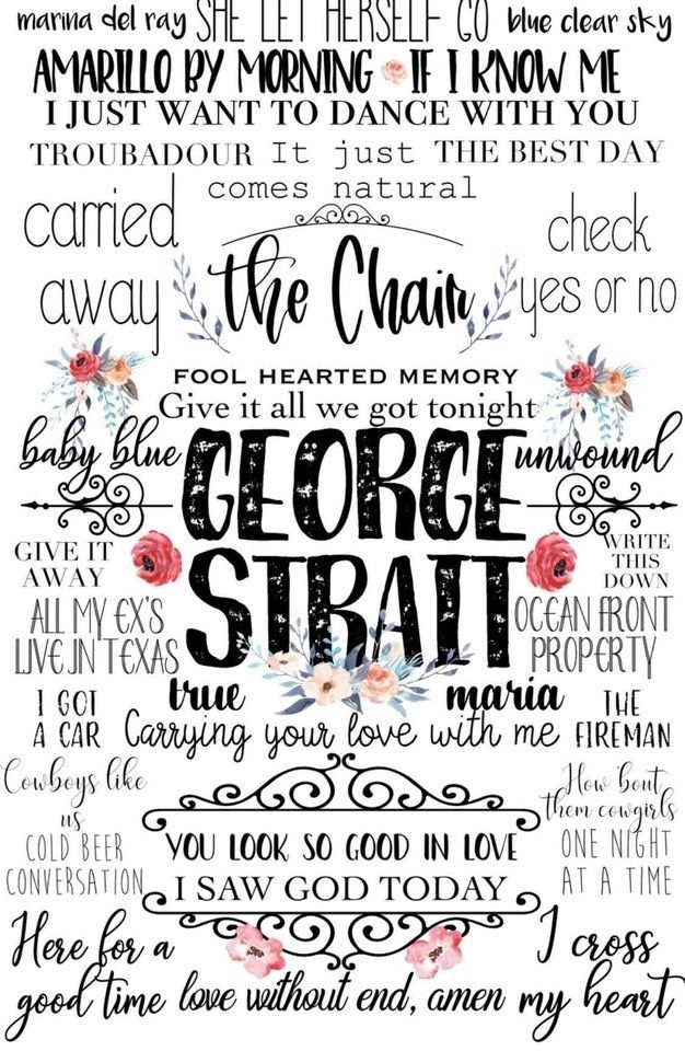 George Strait All My Ex S Live In Texas George Strait Country