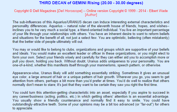 By Photo Congress || Pisces Ascendant 3rd Decan