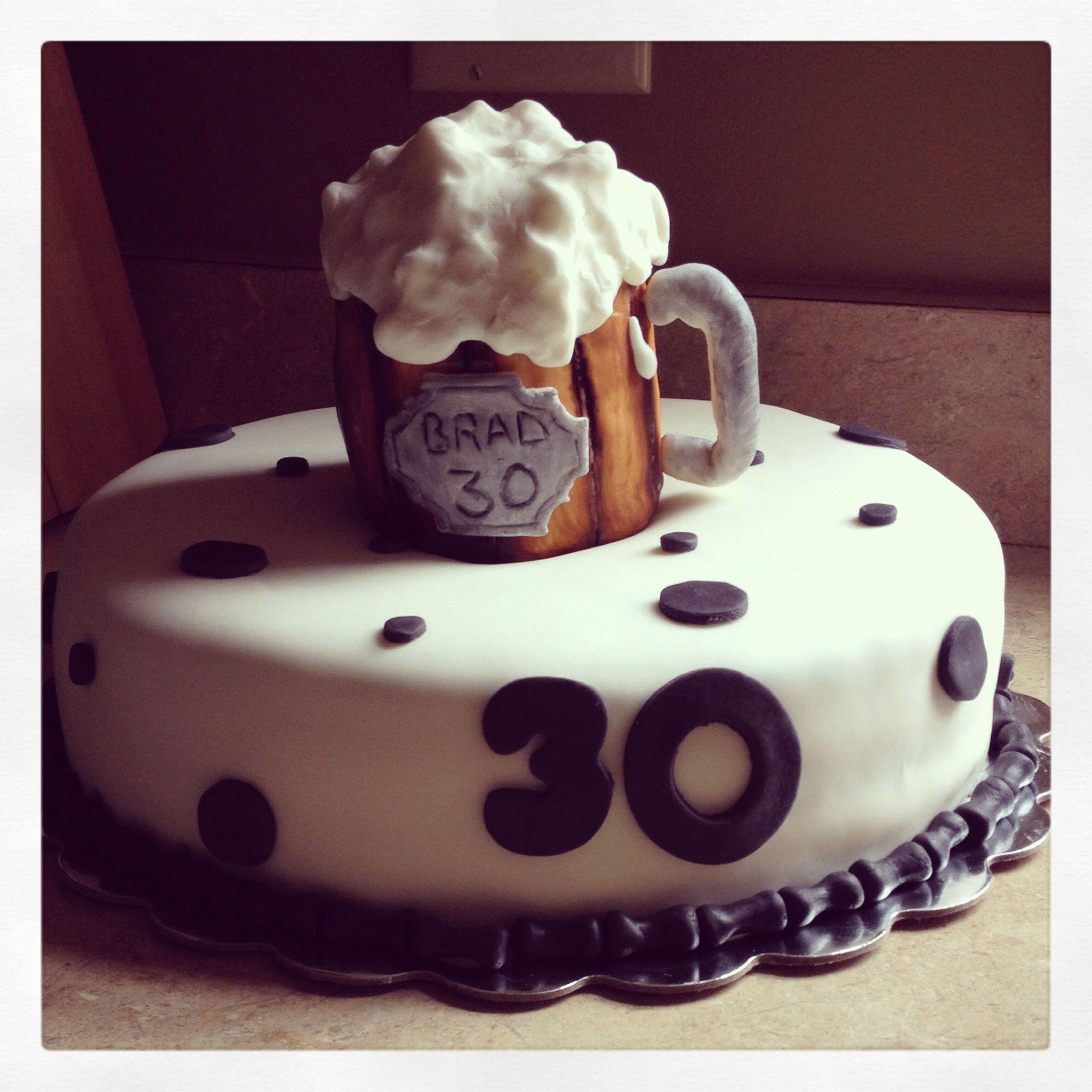 30th Birthday Cake For My Husband 30 Birthday Pinterest 30th