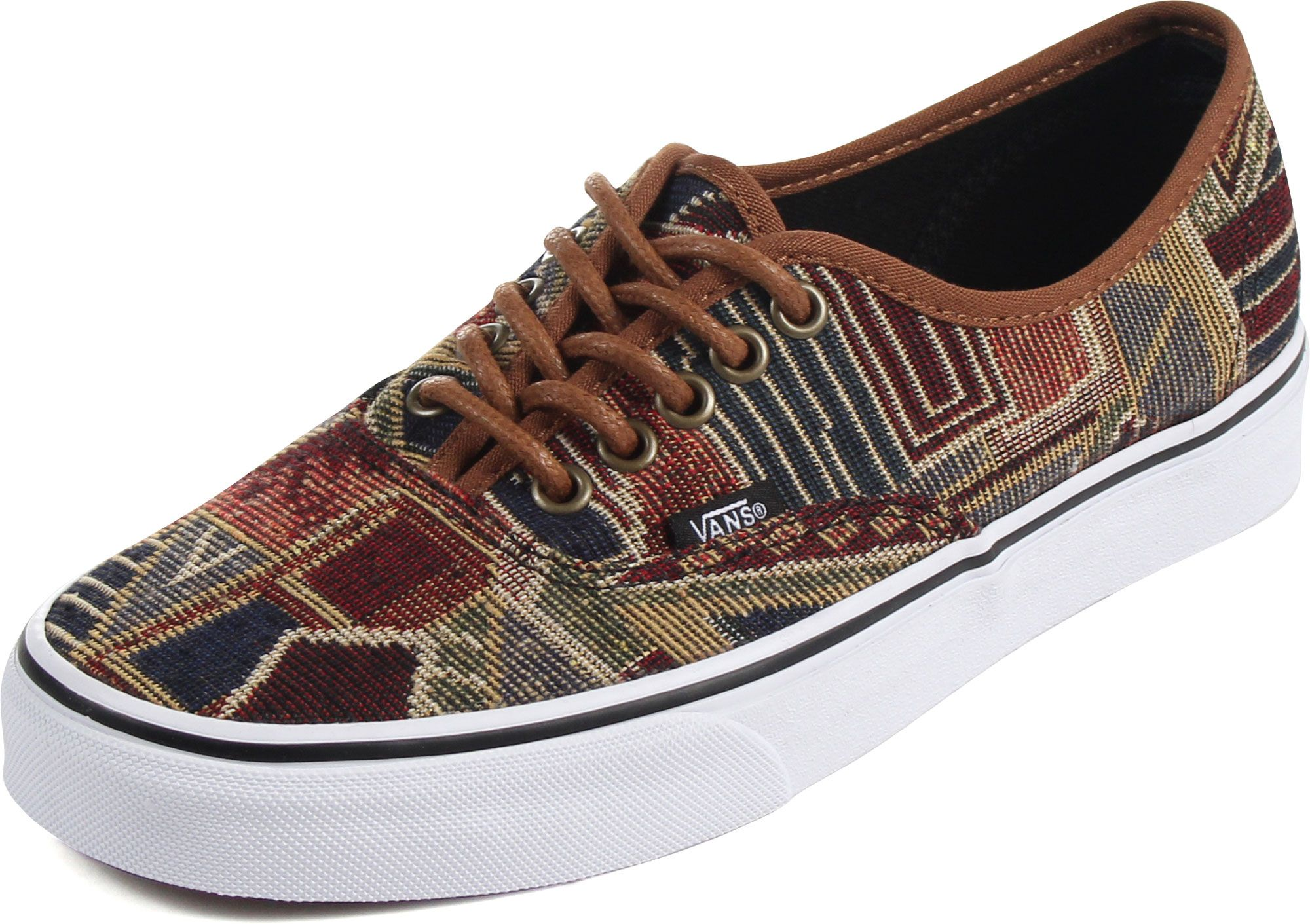 UK Online - Vans Authentic Sneakers Unisex Basses Beige (Van Doren / Poinsettia / Classic White)
