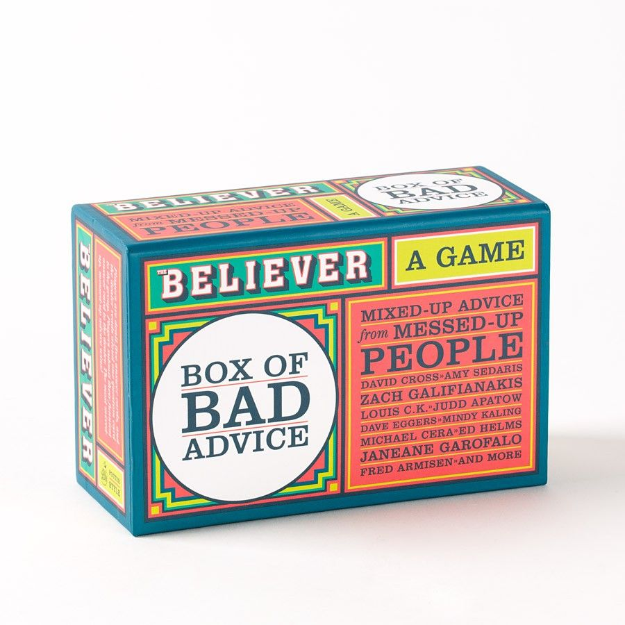 The+Believer+Box+of+Bad+Advice:+A+Game+Price+$14.95