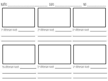 Storyboard Template  Storyboard Dojo Rewards And Brain Breaks