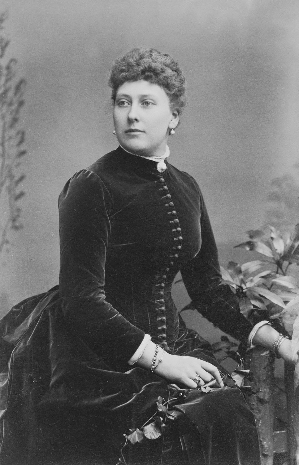 Beatrice, Princess Henry of Battenberg, 1886 [in Portraits