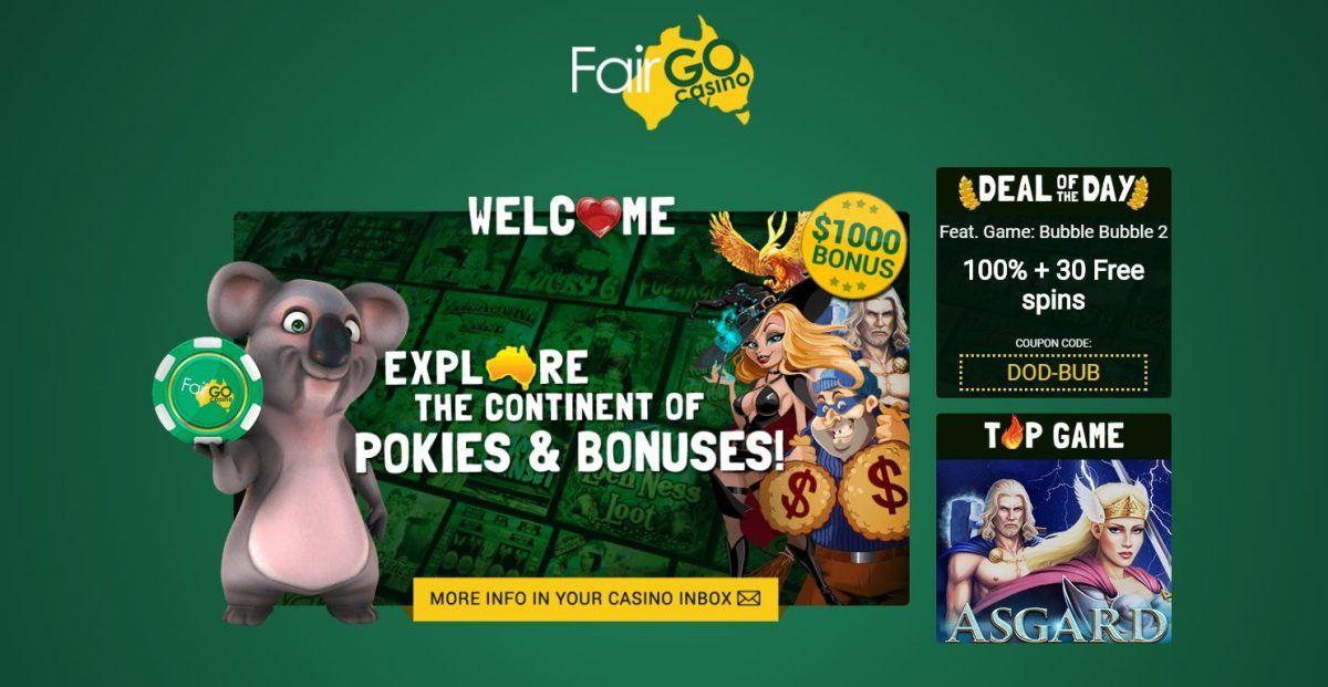 Latest Fair Go casino no deposit bonuses 2020. 20 free