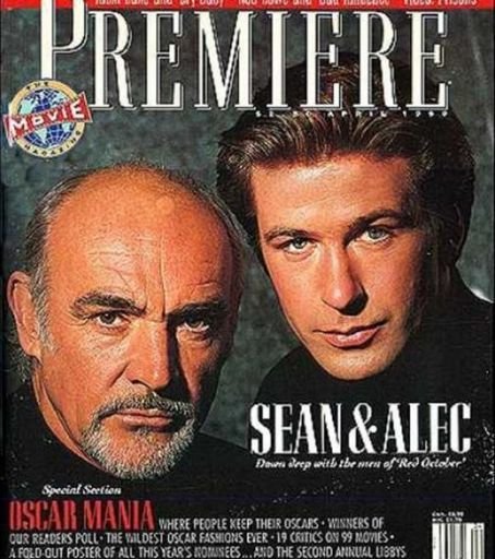 Alec Baldwin Sean Connery The Hunt For Red October 1990 Sean Connery Ricki Lake Alec Baldwin