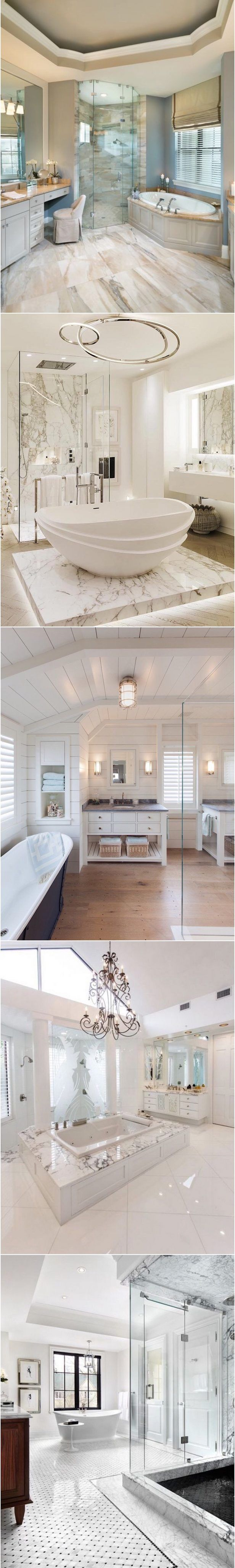 Trending Bathroom Designs | Bathroom designs, Bath and Master bathrooms