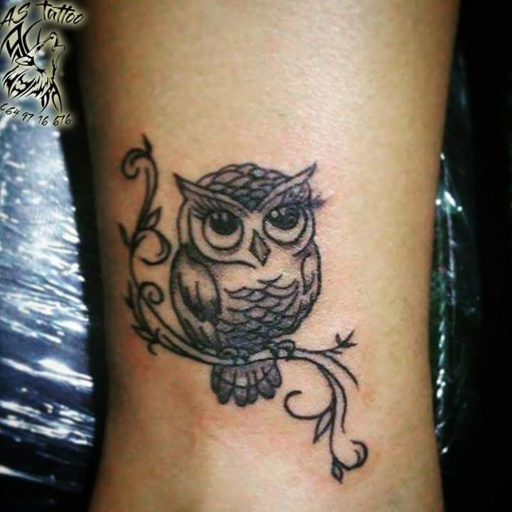 Small Wrist Tattoo Edgy: 40+ Edgy Owl Tattoo Design Ideas For An Enigmatic Style