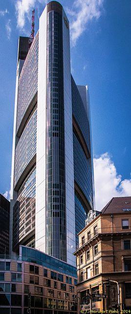 Frankfurt Kaiserplatz Commerzbank Tower Frankfurt Frankfurt Germany Frankfurt Am Main