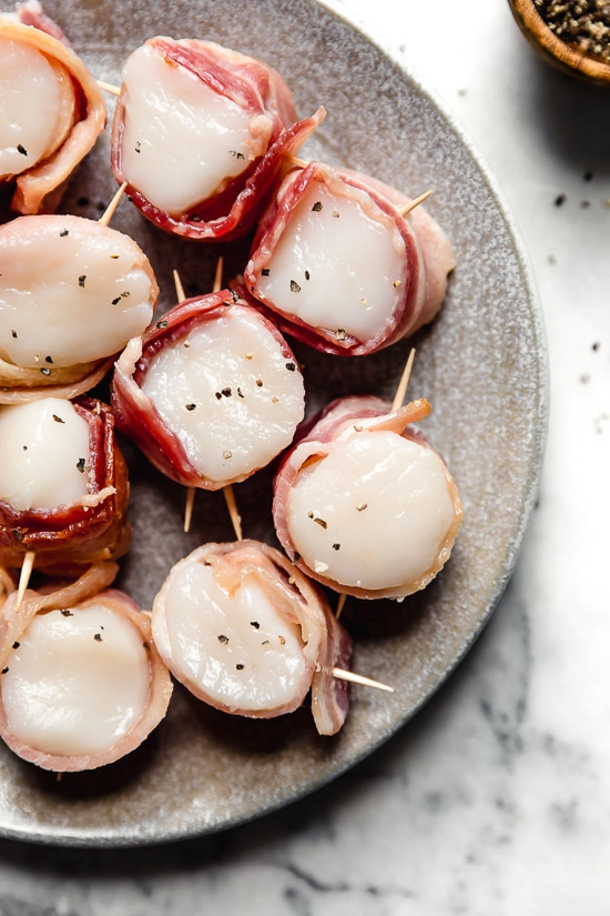 Air Fryer Bacon Wrapped Scallops Recipe Bacon wrapped