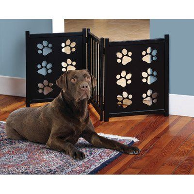 Etna Pet Gate With Paw Cutouts Check Out This Great Image