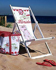 Ok, I see you Martha. I'll try and make my own beach bag.