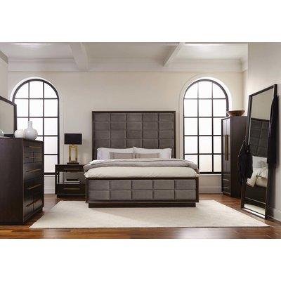 Mercer41 Teme 8 Drawer Double Dresser King Size Bedroom Sets