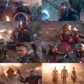 Marvel included some shots of the most epic battle scenes in the history of the