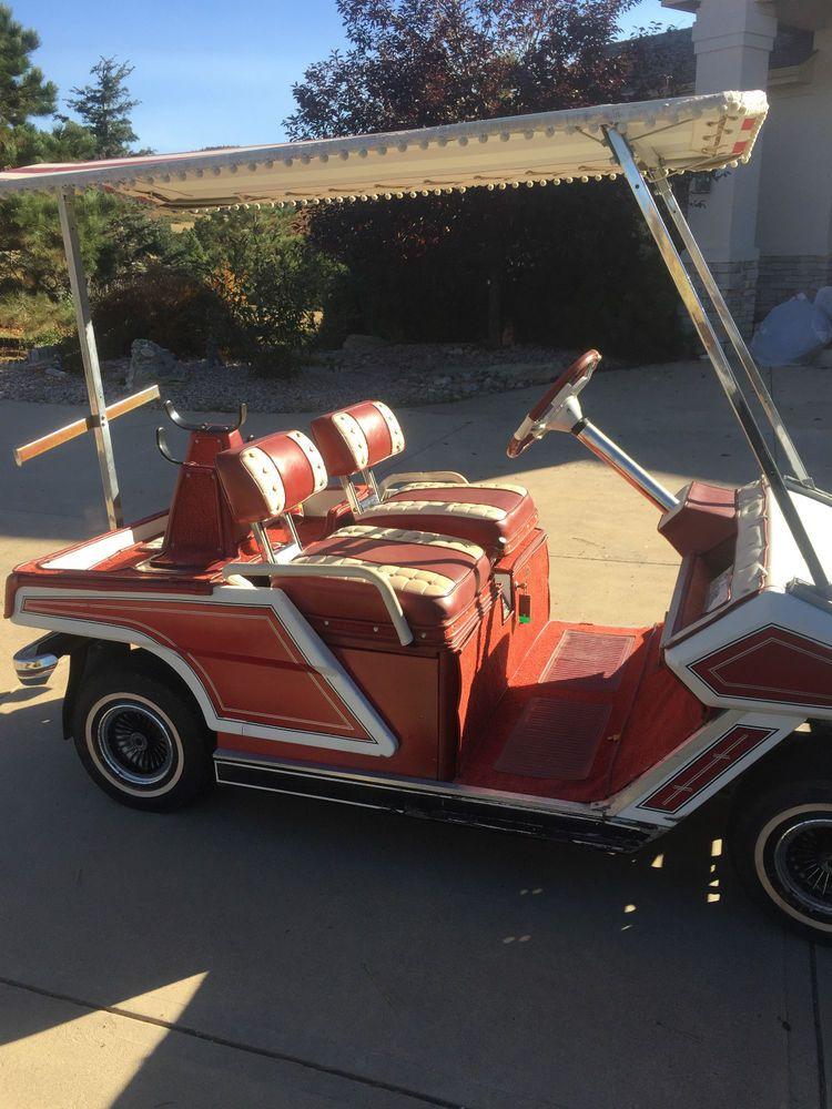 Cushman 1960's golf cart, vintage Cushman Golf carts