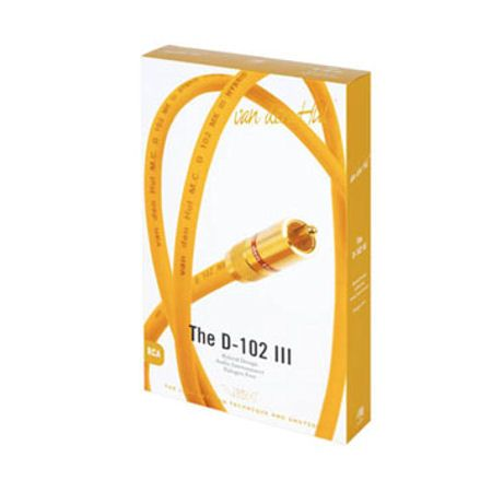 van den Hul The D102 III Hybrid, a-Symmetrische RCA kabel,  80 cm