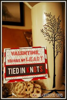 Tied in knots valentine