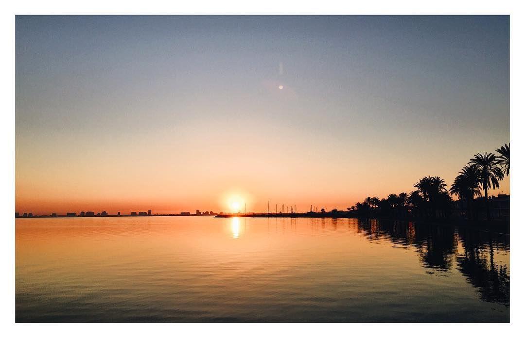 El amanecer de la Luz ! #inspiration #inspiracion #nature #naturaleza #marmenor #españa #vsco