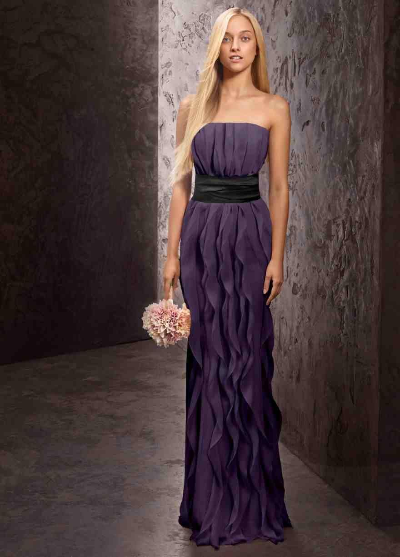 e63e413997 David s bridal vera wang Bridesmaid dress. This is what my Jr. Bridesmaid  is wearing.